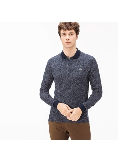 Lacoste Erkek Slim Fit Sweatshirt PH1906.06L Lacivert